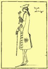 Farinelli, Zanetti karikatúrája