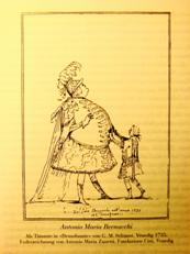 Bernacchi, Zanetti karikatúrája