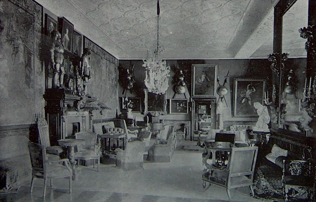 A tiszadobi Nagyterem (Hall), 1904.