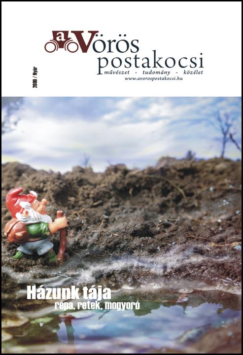 A Vörös Postakocsi 2009.nyár - a borító Csekk István munkája