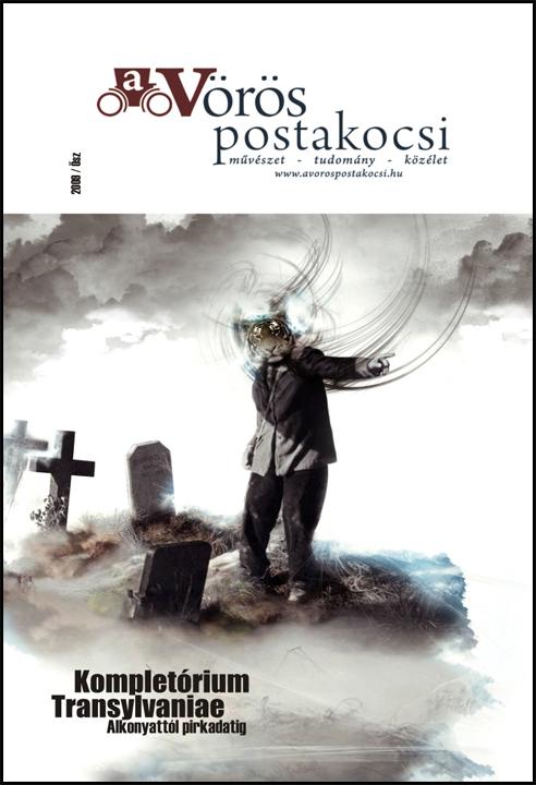 A Vörös Postakocsi 2009. ősz - a borító Csekk István munkája